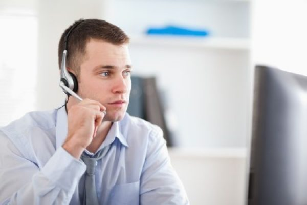 Call center man 450-300